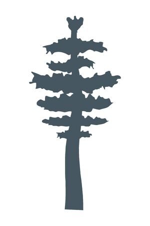 outdoor tree cartoon vector illustration graphic design