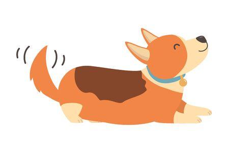 Dog cartoon design vector illustrator Çizim