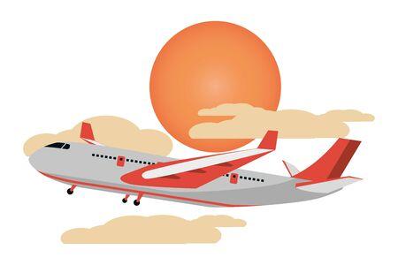 transportation concept cartoon Иллюстрация