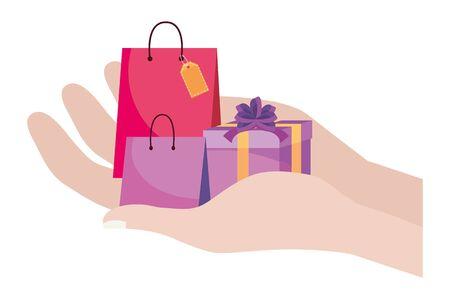 Shopping icon design vector illustration