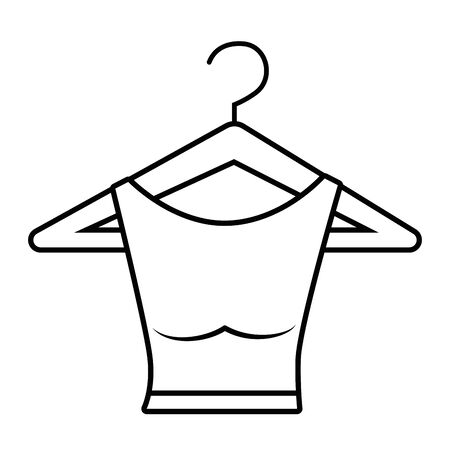 Isolated shirt design vector illustration