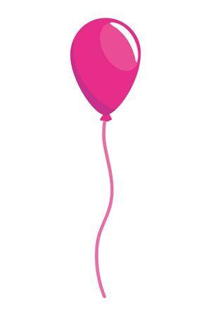 Balloon design, Party celebration entertainment holiday birthday and decoration Vector illustration 일러스트