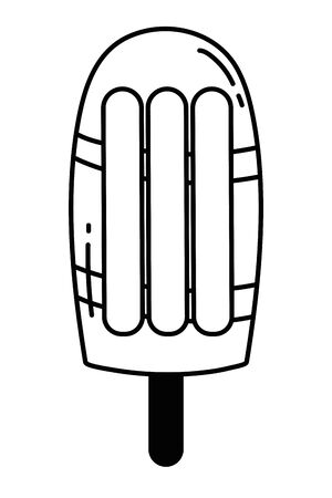 Isolated ice cream design vector illustration