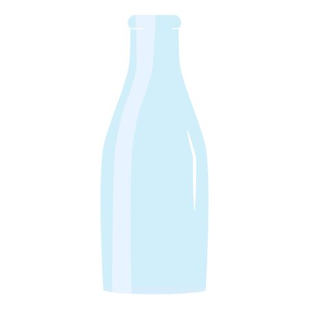 glass bottle empty icon vector illustration design
