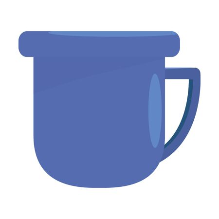 Isolated coffee mug design vector illustration