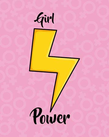 thunder ray power pop art style vector illustration design Stock Vector - 129146097