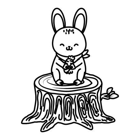 cute little animal cartoon Foto de archivo - 129232850