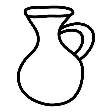 jug isolated icon