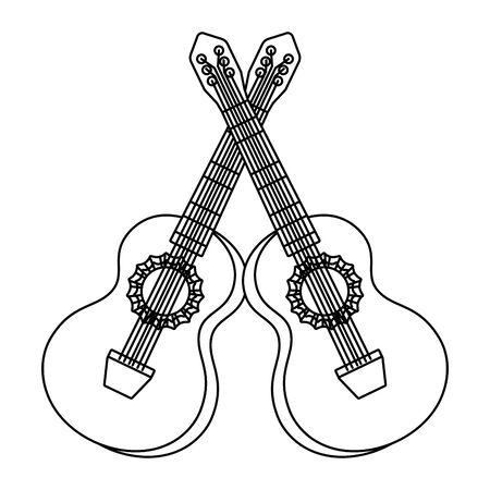 music instruments cartoon
