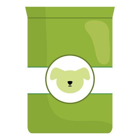 dog pet food bag icon