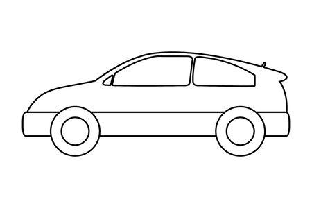 transportation concept cartoon Ilustração