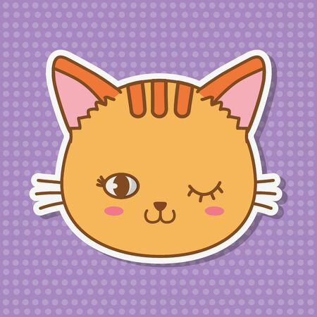 cat icon cartoon