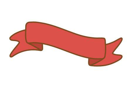 ribbon icon cartoon Фото со стока - 129236357