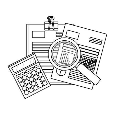 personal finance cartoon Ilustração