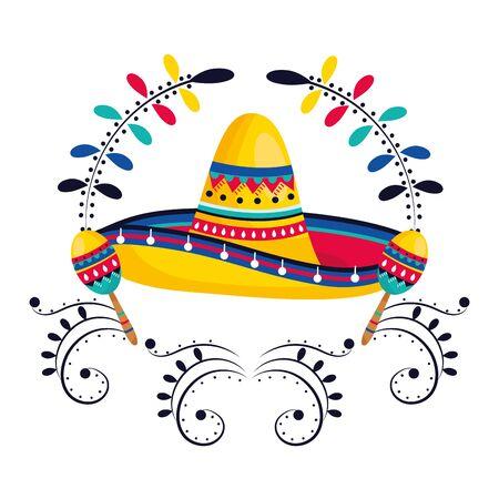mexican culture cartoon Фото со стока - 129236400