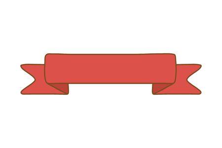 ribbon icon cartoon Фото со стока - 129236443