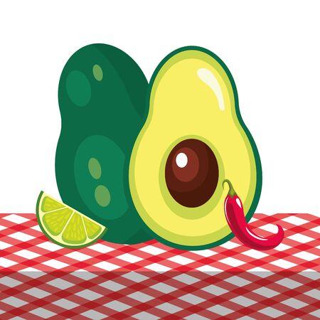 mexican culture food cartoon