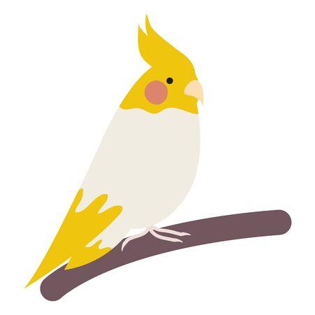 cute little bird adorable mascot