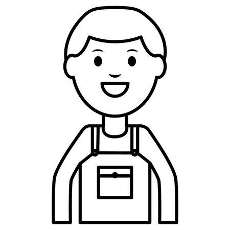 builder worker avatar character