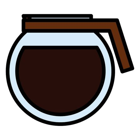 coffee maker kettle icon  イラスト・ベクター素材