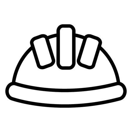 builder helmet protection icon