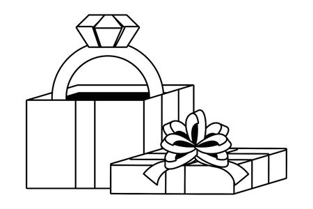 Gift icon design Ilustracja