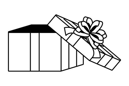 Gift icon design Ilustrace