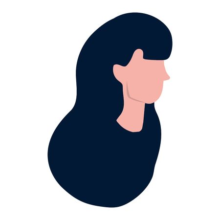 woman face cartoon