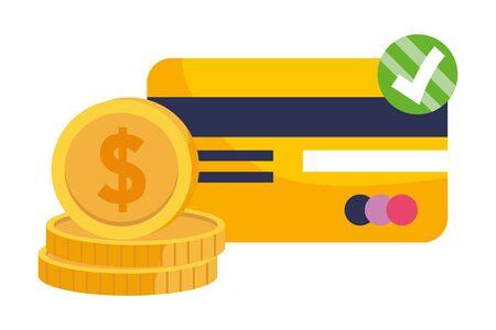 Shopping icon set design