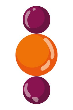 Isolated spheres vector design vector illustration Banque d'images - 129578568