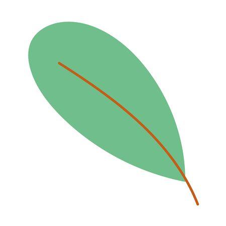 Isolated leaf vector design vector illustration