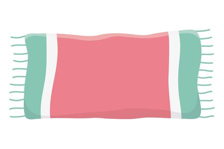 Isolated cotton towel design vector illustration