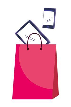 Shopping icon set design vector illustration Stock Illustratie