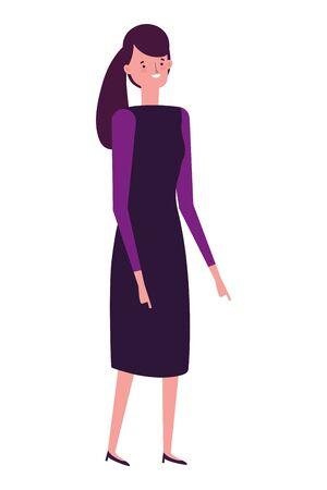 Avatar woman vector design vector illustration