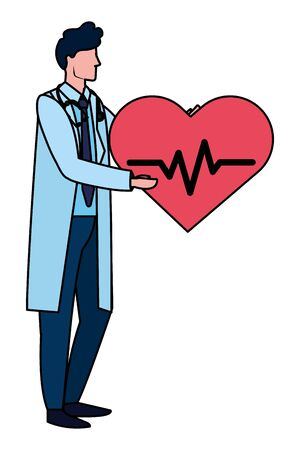 healthcare medical cartoon Ilustracja