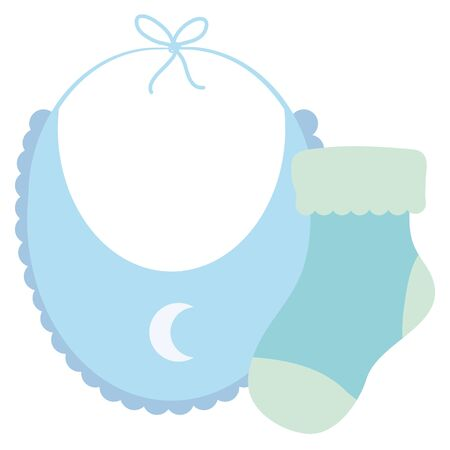 baby bib clothes with sock