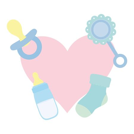 heart love with set accessories