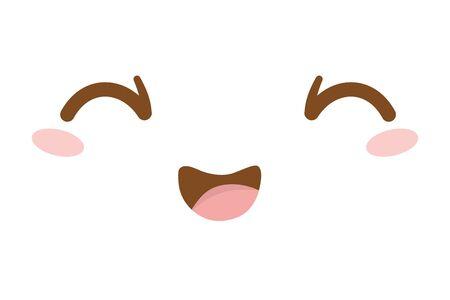 face cartoon illustration