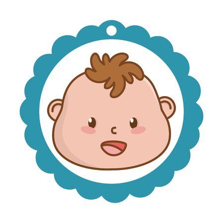 cute baby shower cartoon