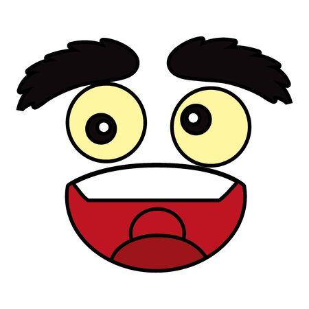emoticon face cartoon