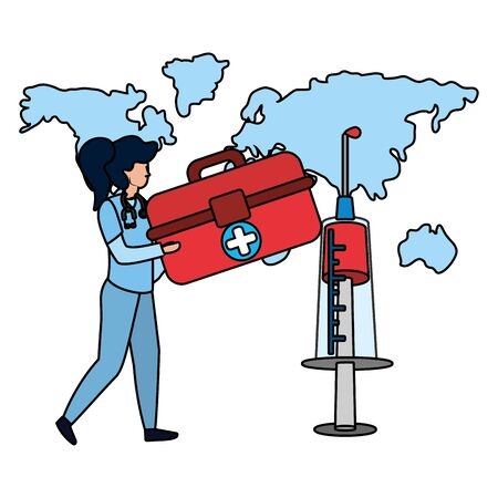 healthcare medical cartoon Çizim