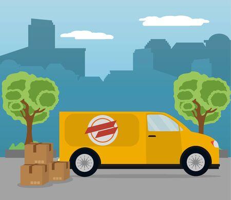 mail delivery service Çizim