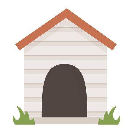 House for mascot design vector illustration