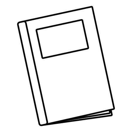 Isolated book design vector illustrator Illustration