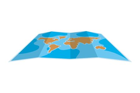 Map design, Planet continent earth world globe ocean and universe theme Vector illustration