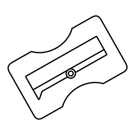 Isolated sharpener design vector illustrator  イラスト・ベクター素材