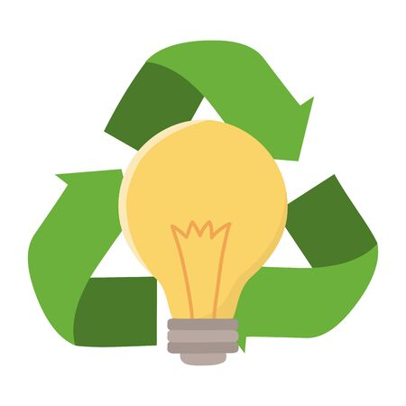 Recycle icon represented by arrows