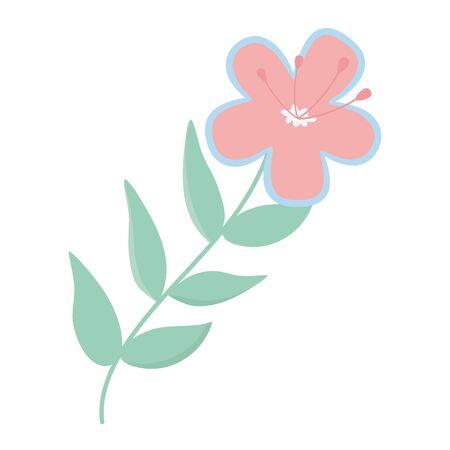 Isolated flower ornament design vector illustration 版權商用圖片 - 132103448