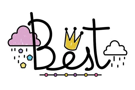 Isolated best word vector design