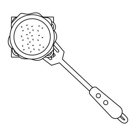 Isolated barbecue spatula design vector illustration